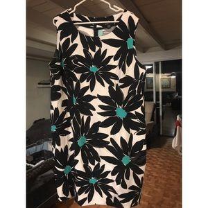 Ronni Nicole sleeveless floral dress